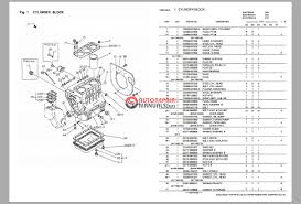yanmar tractor ym276 ym276d parts catalog auto repair manual