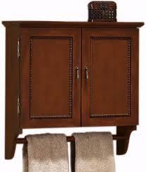 Bathroom Wall Cabinet With Towel Bar Chelsea Wall Cabinet With Towel Bar Homedecorators Home