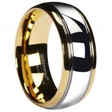 Mens Tungsten Carbide Wedding Rings by Queenwish Discover The Perfect Cz Wedding Rings For Him And Her At