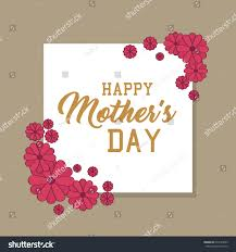 mothers day card happy mothers day card stock vector 633129245 shutterstock