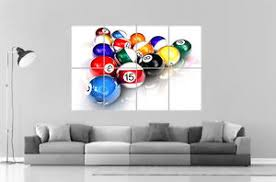 pool table wall art pool table wall art poster great format a0 wide print ebay