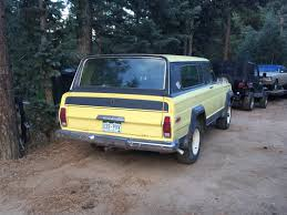 lowered jeep wagoneer trails and errors captain u0027s log
