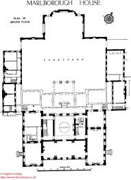 Georgian Mansion Floor Plans Marlborough House The Residence Of Edward Prince Of Wales Plan