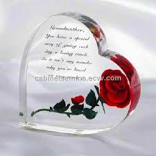 heart gifts acrylic heart shape gift engraved christmas gifts