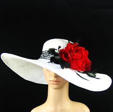 new church kentucky derby organza wide brim champagne gold
