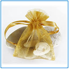 organza favor bags 29x gold wedding organza favor gift bags 4x6 inch