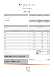 Service Invoice Templates by Occupyhistoryus Winning Download Building Service Billing Template