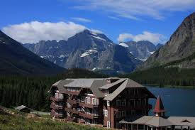 Montana national parks images Panoramio photo of many glacier lodge glacier national park jpg