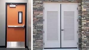 Exterior Doors Commercial Commercial Steel Doors Hollow Metal Doors Doors