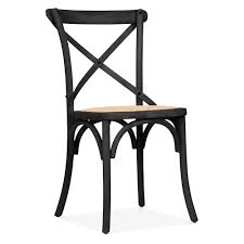 White Plastic Bistro Chairs Cult Living Crossed Back Black Bistro Chair Cafe Bistro Chairs