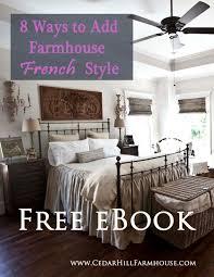 free farmhouse french design ebook cedar hill farmhouse