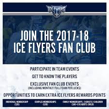 my fan club rewards pensacola ice flyers ice flyers fan club