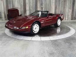 1993 corvette 40th anniversary 1993 chevrolet corvette for sale on classiccars com 38 available
