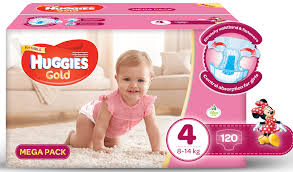 huggies gold specials huggies gold girl size 4 120 nappies buy online in south
