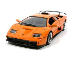 lamborghini diablo orange diablo gt orange diecast 1 18 motor max