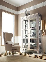 china cabinet in living room funiture modern silver metal china cabinet and buffet with glass