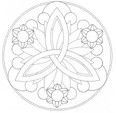 easy mandala coloring pages 4 easy mandala coloring pages