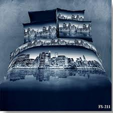 Duvet And Quilt Difference Different City Oil Printed 3d Bedding Sets Luxury Duvet Quilt