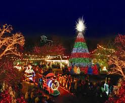 christmas festivals at 10 theme parks in america