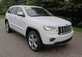 white jeep hood 2013 jeep grand cherokee overland 4x4 white martinsville in