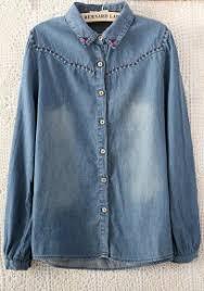 denim blouses denim blouses tops search cichic