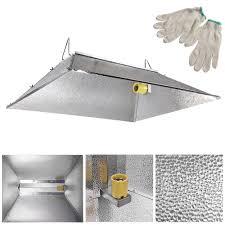 1000 watt hps light 35x29 indoor grow light reflector hood for 250w 400w 600w 1000 watt