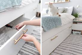 bed ikea 21 best ikea storage hacks for small bedrooms