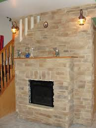 stone wall fireplace decorations admirable brick cream stone fireplace with woodem