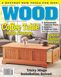 Woodworking Magazine Pdf by Wood Issue 237 December 2015 January 2016 Woodworking Plan From