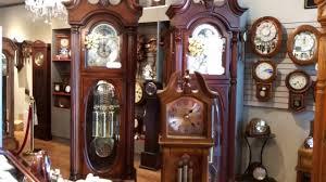 miniature grandfather clock musical u0026 chiming by rhythm usa