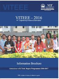 viteee informationbrochure university and college admission