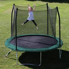 skywalker 5 u0027 square bounce n learn interactive game trampoline