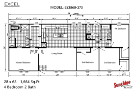 excel es2868 275 by sunshine homes