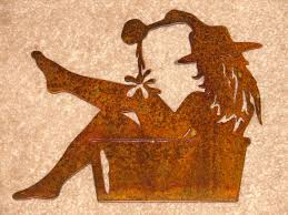 western wall plaque cowgirl sign home decor