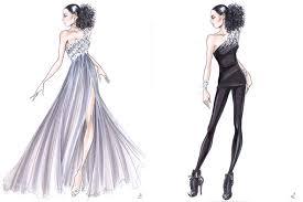 design sketch latest fashion style