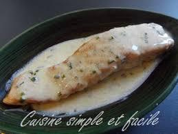 comment cuisiner un pavé de saumon pavé de saumon et sa sauce au citron cuisine simple et facile