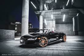 audi r8 gold eye catching audi r8 spyder on adv 1 wheels by marcel lech