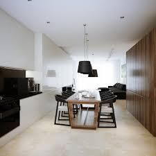 modern interior design ideas for kitchen modern minimalist black and white lofts