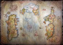 Wow Map World Of Warcraft Map By Helevornart On Deviantart