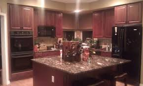 Pictures Of Kitchens With Cherry Cabinets The Benefits Of Using Cherry Cabinets Cabinets Direct Perfect Tip
