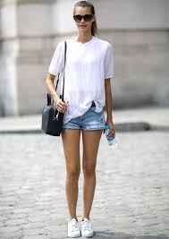 Fabuloso Duo We Love: Short Jeans e Blusa Branca » STEAL THE LOOK #GK09