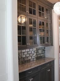 mirror tile backsplash kitchen 8 best subway tile images on bathroom ideas bathroom