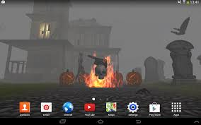 3d halloween live wallpaper android apps on google play