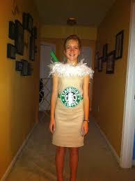 diy starbuck u0027s frappuccino costume halloween pinterest