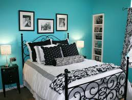 bedroom ideas with black furniture and blue walls home gallery