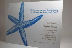 photo starfish bridal shower initation image