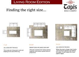 how to choose a rug in a large living room area rug placement in