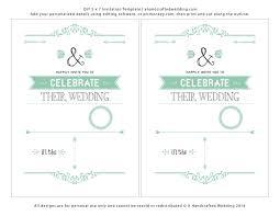 free wedding samples invitations templates