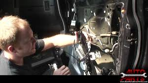 nissan armada 2017 parts 2004 nissan titan armada qx56 window motor part 2 youtube