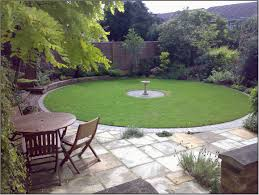 create simple back garden ideas in your back yard
